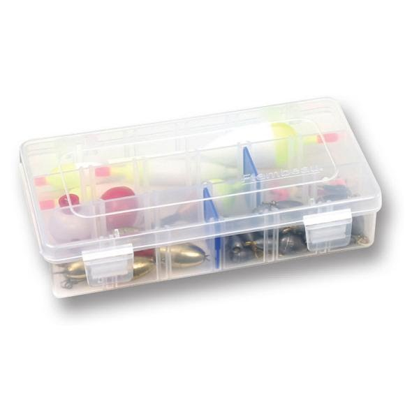 Flambeau Tuff Tainer 3 Partition, 15 Divider Tackle Box Image