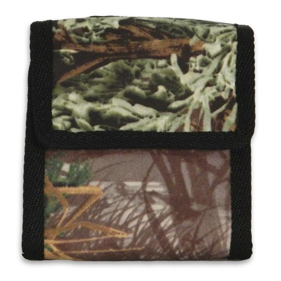 Sportsman Edge Deluxe Magnum Cal 10 Round Suede Camo Bullet Pouch Image