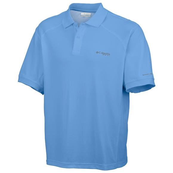 Columbia Men`s Skiff Guide III Short Sleeve Polo Image