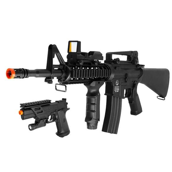 Palco DPMS M4A1 Electronic Airsoft Rifle On Duty Kit Image