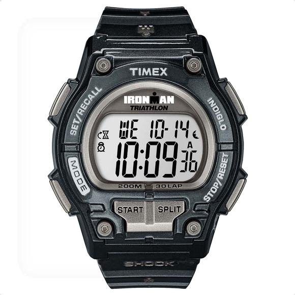 Timex Ironman Shock-Resistant 30-Lap Digital Watch Image