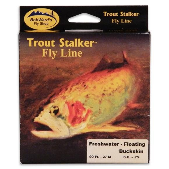 Stone Creek Bob Ward's Trout Stalker Weight Forward Floating Fresh Water Fly Line (4wt) Image