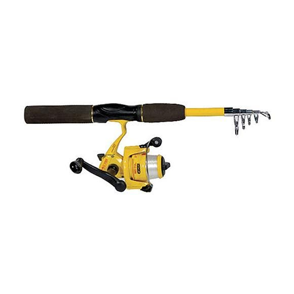 Eagle Claw Pack-It 5ft 6in Telescopic Spinning Rod/Reel Combo Image