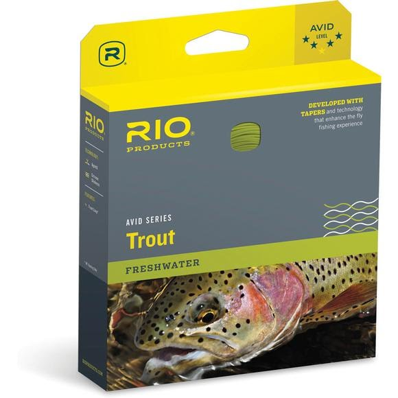 Rio Avid Trout Floating Fly Line (WF3F) Image