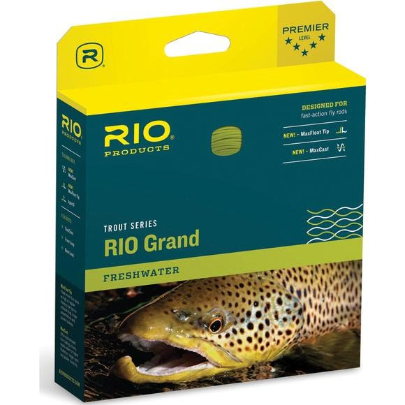 Rio Grand Trout Floating Fly Line (WF5F) Image