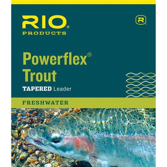 Rio Powerflex Trout Leader (9ft/3X) Image