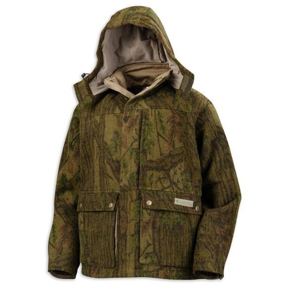 Columbia Men's Horn Mesa Wool Hooded Jacket Image