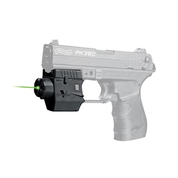Viridian C5L Green Laser Sight for Walther P22 Sidearm