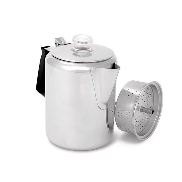 Gsi Outdoors Glacier Stainless 9 Cup Percolator Image