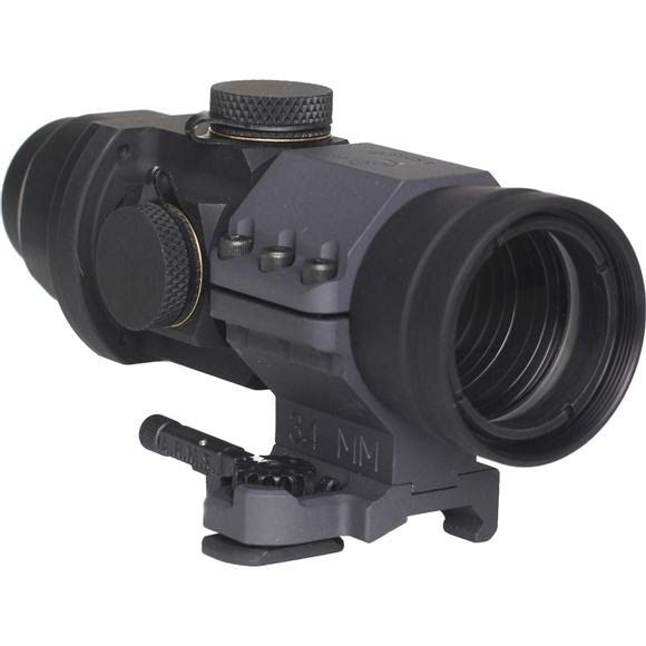 Browe Optics 4x32 Browe Sport Optic with 5.56 Amber Chevron Reticle Image
