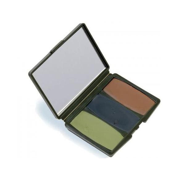 Hunter Specialties Camo-Compac 3 Color Woodland Makeup Kit Image
