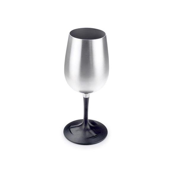 Gsi Outdoors Glacier Stainlees Nesting Wine Glass Image