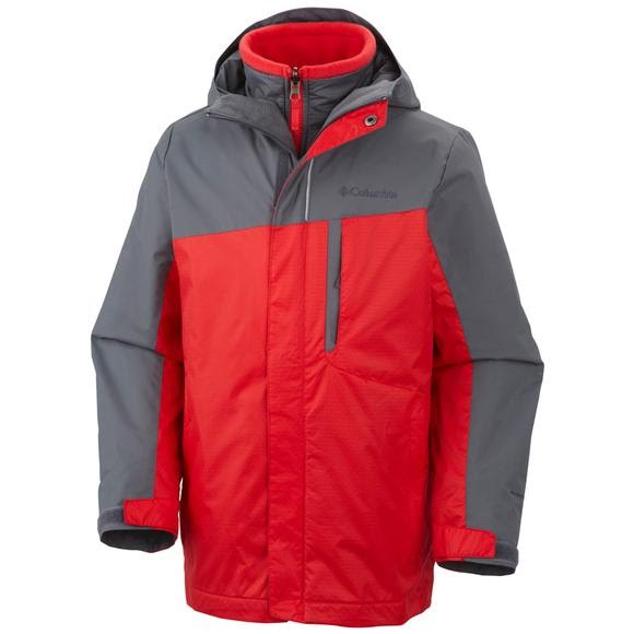 Columbia Boy S Youth Eager Air Interchange Jacket