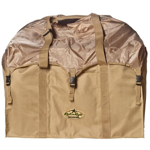 Rig'em Right 6-Slot Full Body Goose Decoy Bag (Medium) Image
