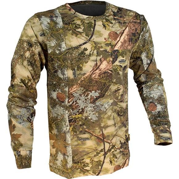 King's Camo Cotton Long Sleeve Tee Image