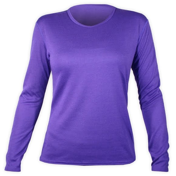 Hot Chillys Women's Pepper Doubler Layer Crewneck Top Image