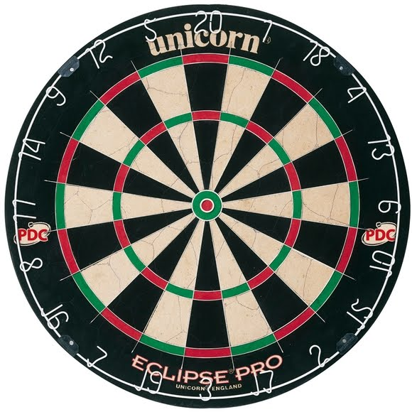 Unicorn Eclipse Pro Dartboard Image