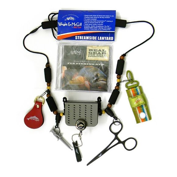 Eagle Claw Wright and McGill Streamside Lanyard with Tools and DVD Image
