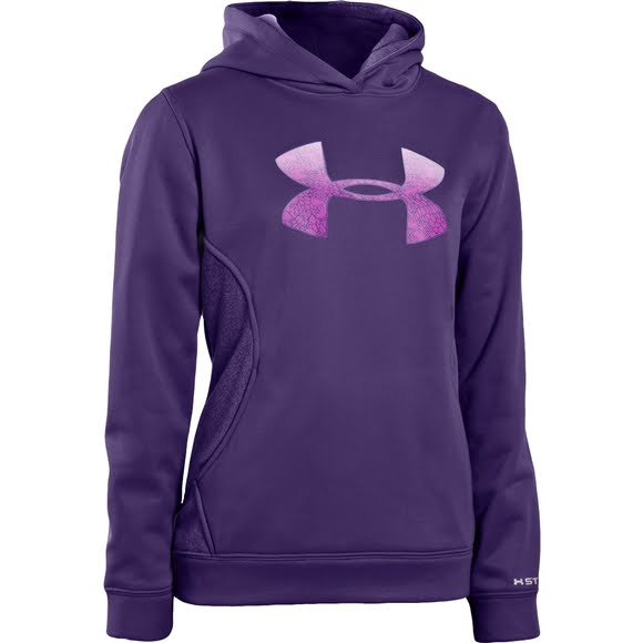 2ddbbe882999 Under Armour Women's Armour Fleece Storm Pulse Big Logo Hoodie