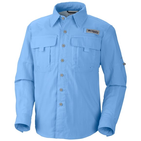Columbia Boy's Youth Bahama Long Sleeve Shirt Image