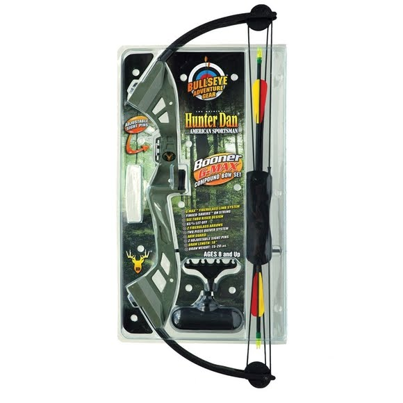 Hunter Dan Booner G-Max Youth Compound Bow Set Image
