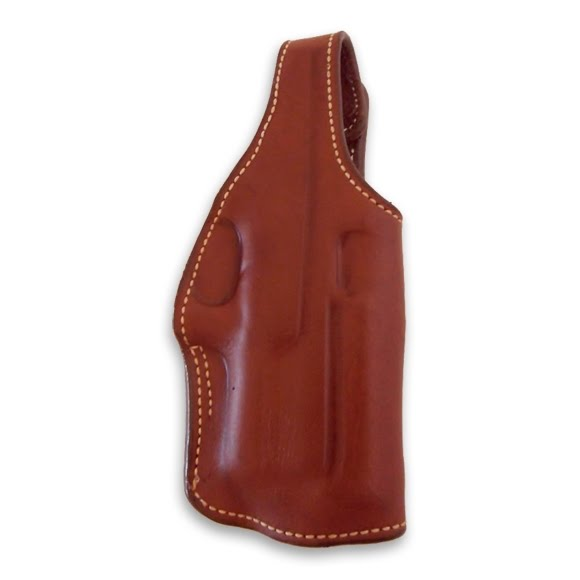 Ross Leather M11DS Dual Position Suede-Lined Field Holster With Thumb Break Image