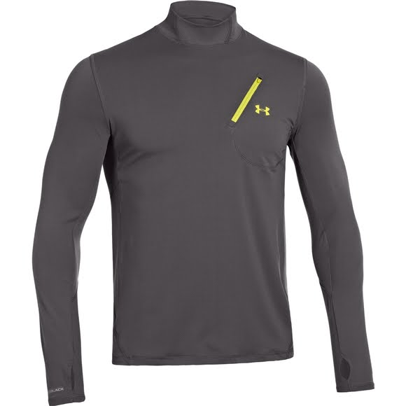 Under Armour Men's Coldblack Abyss Knit Long Sleeve Image