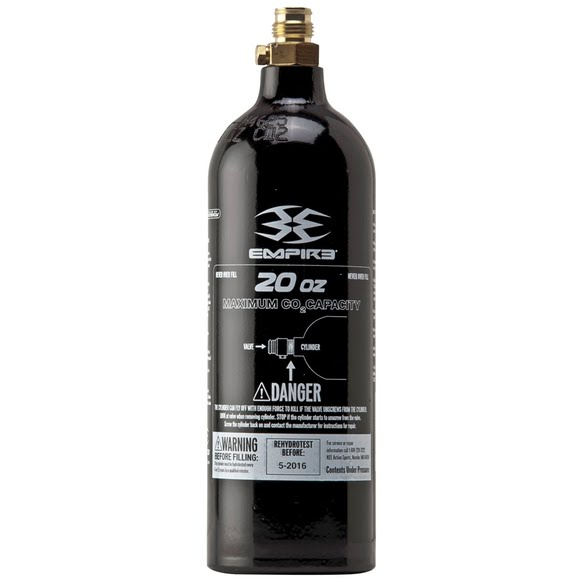 Kee Action Sports Empire 20oz CO2 Tank Image