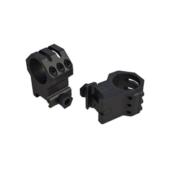 Weaver Six Hole Picatinny Tactical Scope Rings (30mm LOW) Image