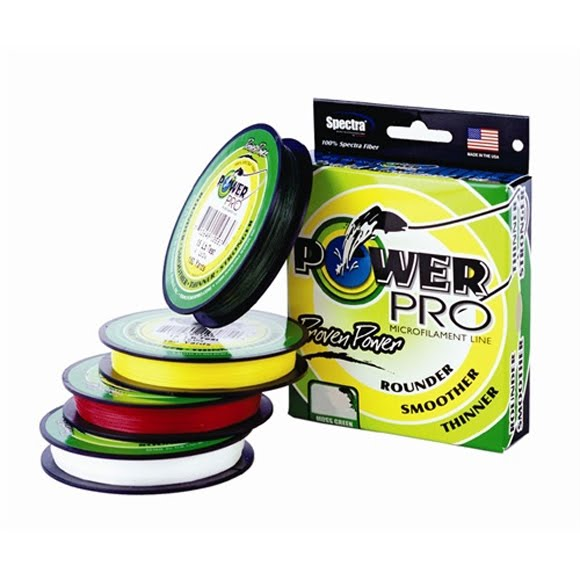 Power pro microfilament 30lb x 150 yds fishing line green for Power pro fishing line