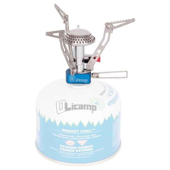 Olicamp Electron Canister Stove with Ignition Image