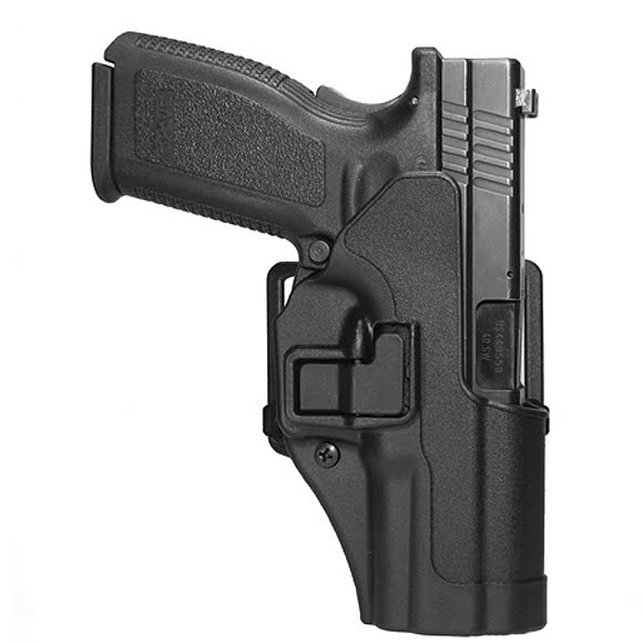 how to wear blackhawk serpa concealment holster