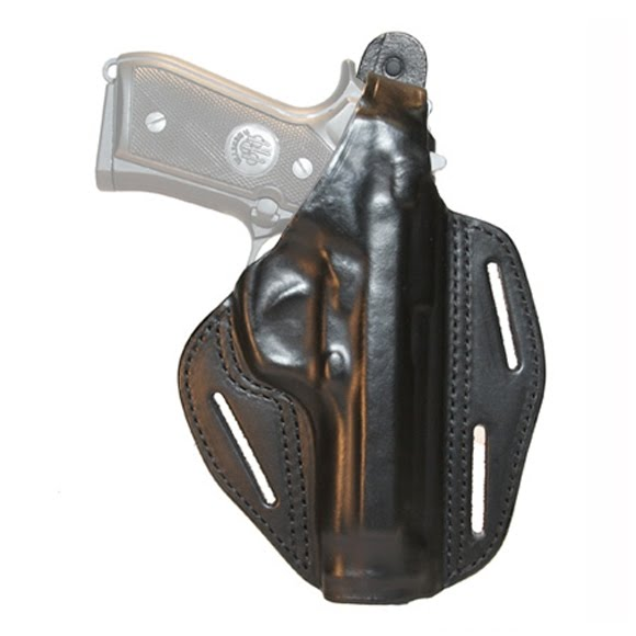 Blackhawk 3-Slot Leather Concealment Pancake Holster (Springfield XD) Image