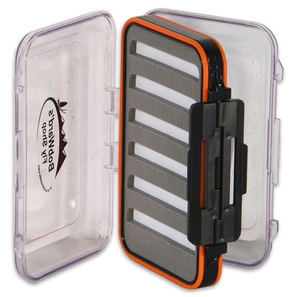 New Phase Bob Ward's Fly Shop Medium Waterproof Fly Box Image