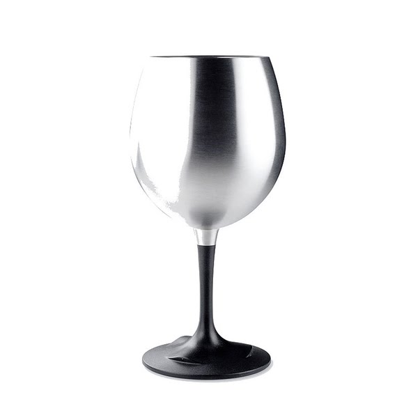 Gsi Outdoors Glacier Stainless Nesting Red Wine Glass (15 oz.) Image