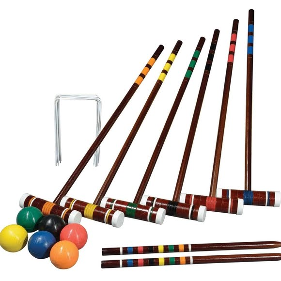 Franklin Intermediate 6 Player Croquet Set Image