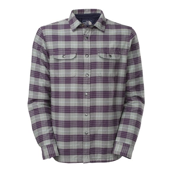 ed2524653 The North Face Mens Wesley Plaid Shirt Jacket