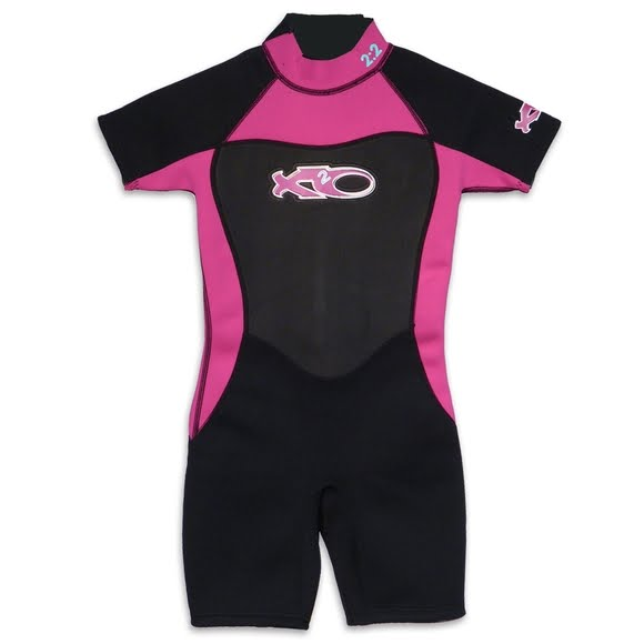 X2o Girls Youth Spring Shorty 2x2mm Wetsuit Image