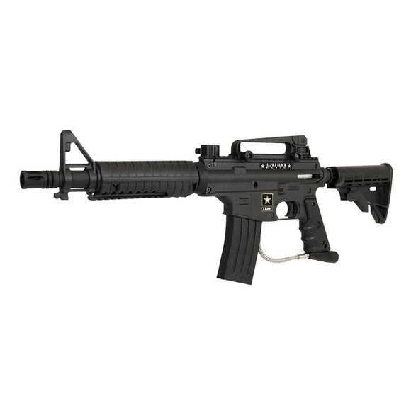 Tippmann US Army Alpha Black Elite Paintball Marker Image