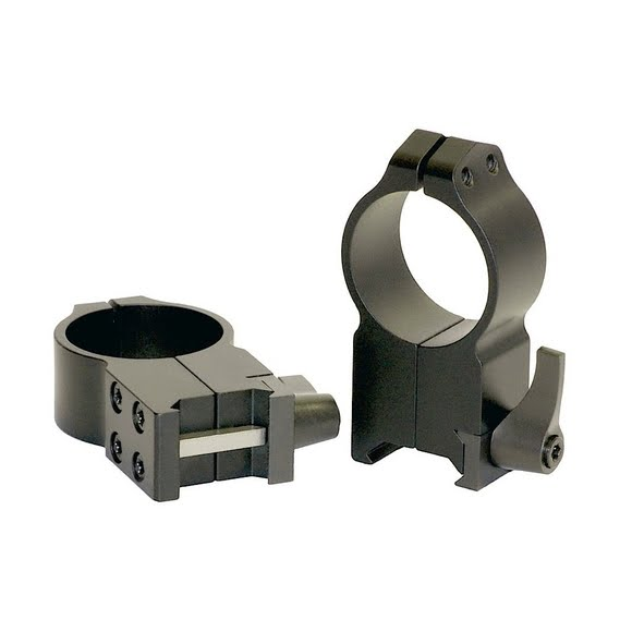 Warne 30mm AR-15 Quick Detach Flat Top Scope Ring Image