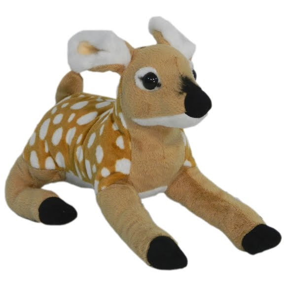 Wildlife Artists Whitetail Fawn Conservation Critter Plush Stuffed Animal Image