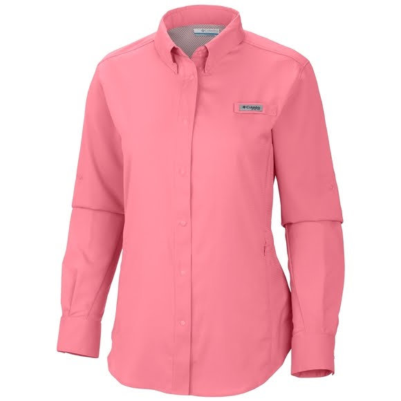Columbia women s pfg tamiami ii long sleeve shirt for Columbia shirts womens pfg