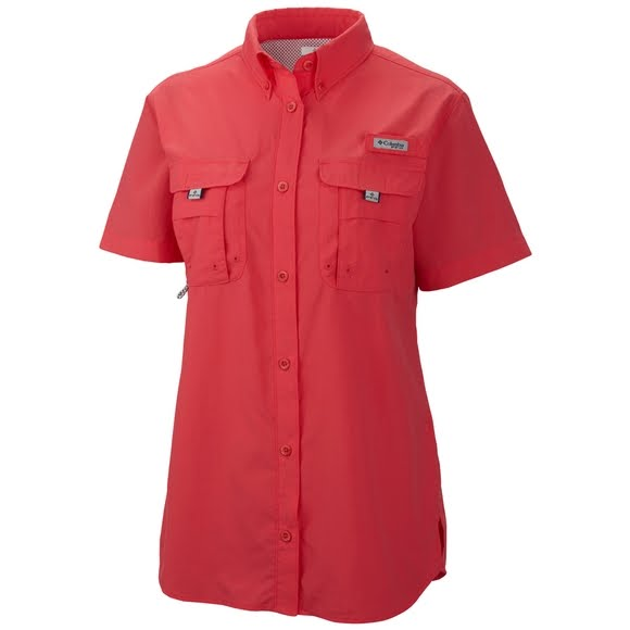 Columbia women 39 s bahama pfg short sleeve shirt for Columbia shirts womens pfg