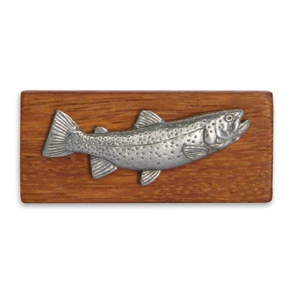 11 Outdoors Cutthroat Trout Handcrafted Money Clip Image