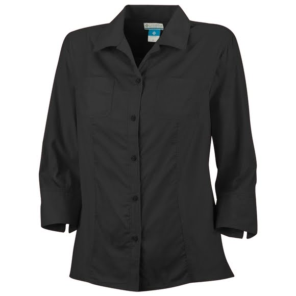 Columbia Women's Sandy Dandy 3/4 Sleeve Shirt Image