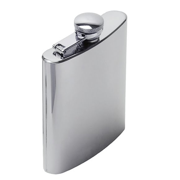 Gsi Outdoors Glacier Stainless 6 oz Hip Flask Image