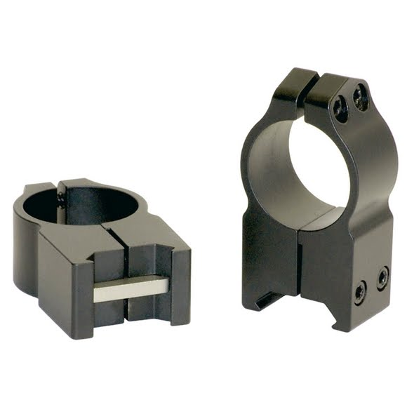 Warne Maxima 30mm Extra High Fixed Scope Rings (Matte) Image