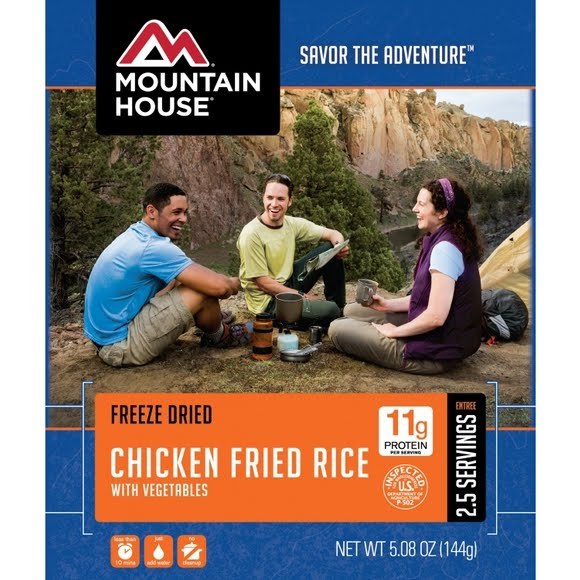 Mountain House Chicken Fried Rice (Serves 2) Image