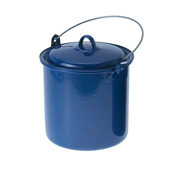Gsi Outdoors 3.5qt Enamelware Straight Pot with Lid Image