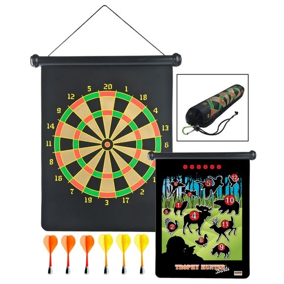 Gsi Outdoors Roll-Up Trophy Hunter Magnetic Darts Image